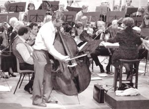 Swan Theatre Rehearsal with International Bassist Duncan McTier 1989
